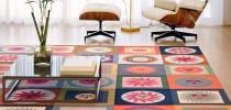 Напольная ковровая плитка
