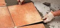 Особенности укладки напольной керамической плитки