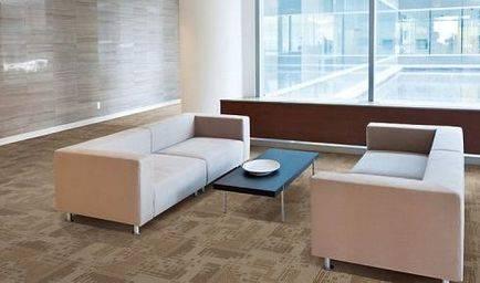 Где можно использовать ковровую плитку?