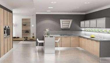 Виды напольных покрытий для современной кухни