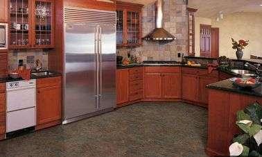 Напольная плитка для кухни: керамика