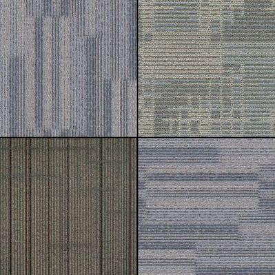 Пол из ковровой плитки в подвале