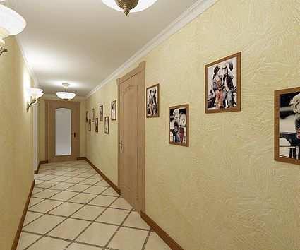 плитка в коридор и прихожую