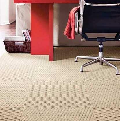 ковровая плитка - плюсы и минусы