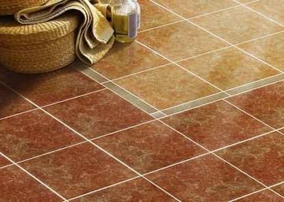 Качественный пол из керамической плитки