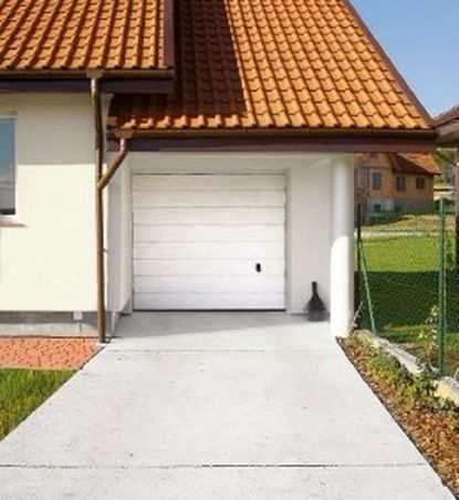 Как обустроить подъезд к гаражным воротам?