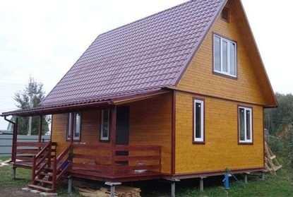 дом на винтовых сваях