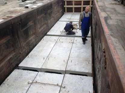 Применение железобетонных лотков в современном строительстве