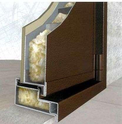 Виды наполнителей металлических дверей