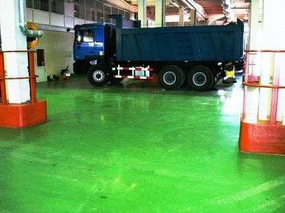Чем покрыть полы на складе