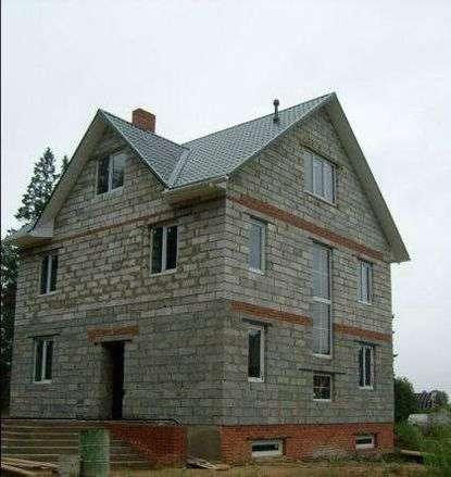 Из чего построить дом - из арболитовых блоков