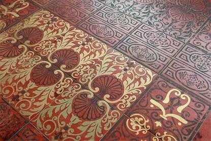 Керамическая плитка в восточном стиле