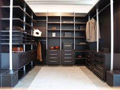 Напольное покрытие в гардеробной комнате